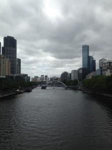 Il cielo grigio di Melbourne