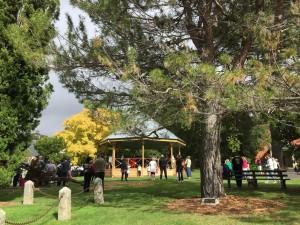 Balli e musica nel parco