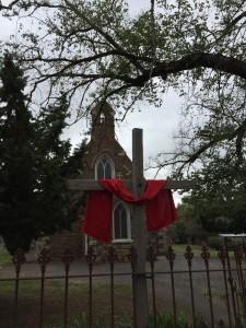 Venerdì santo alla chiesa Anglicana